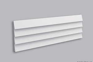 Pannello decorativo 3D Stripe